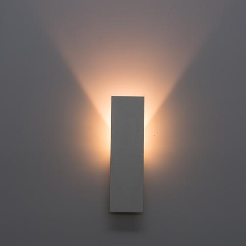 ULTRALUX - OTS327 LED тяло за стена с индиректна светлина, 3W, 2700K, бяло