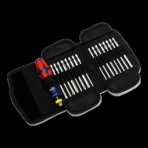 WERA - Ръкохватка с магнитен държач комплект PH-PZ-SB-TX-SW, 17 бр. KRAFTFORM RED BULL RACING 062 WRA 862