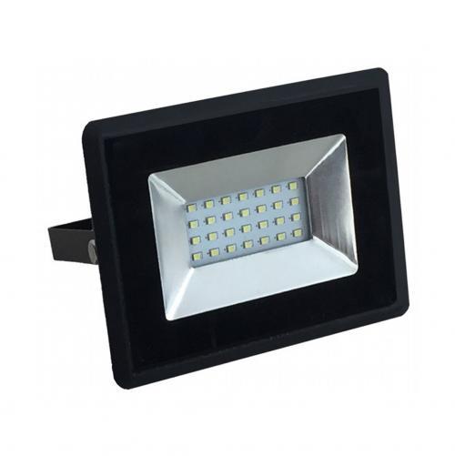 V-TAC - 20W LED Прожектор E-Series Черно Тяло 3000K SKU: 5946 VT-4021 , 4500K-5947, 6000K-5948