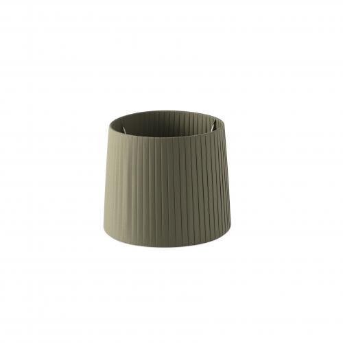 FARO -  MAMBO Olive green ribbon textile shade ø250×200 2P0627