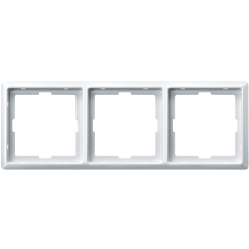 SCHNEIDER ELECTRIC - MTN481319 рамка тройна полярно бяло Artec Merten