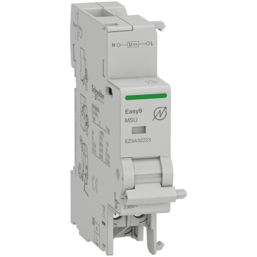 SCHNEIDER ELECTRIC - Допълнителен изключвател Easy9 MSU 1P+N 230V AC EZ9A32223