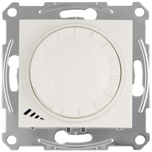 SCHNEIDER ELECTRIC - SDN2201223 Sedna universal rotary dimmer for LED lamps 400 W, cream