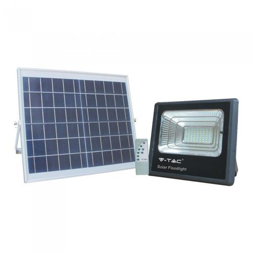 V-TAC - 16W LED Прожектор с Фотоволтаичен Панел 4000К SKU: 8574 VT-40W