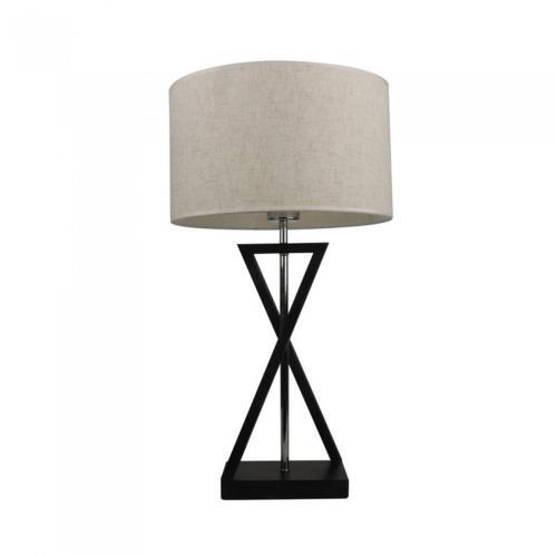 V-TAC - Настолна Лампа E27 Черна, Слонова Кост Ключ Кръгла SKU: 40391 VT-7713