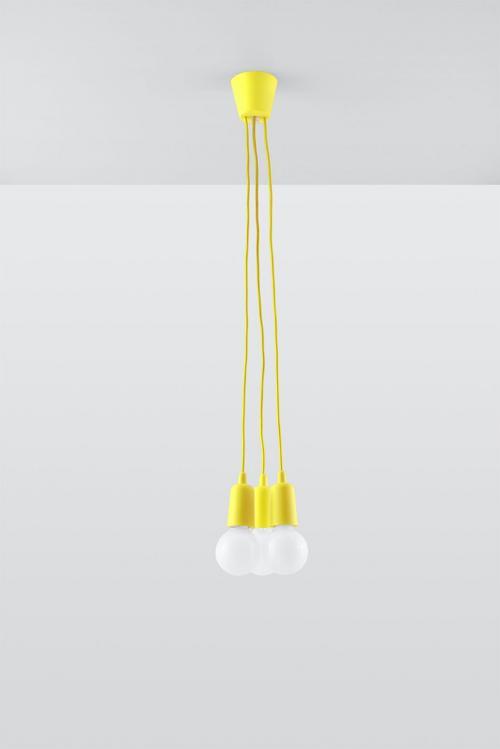 SOLLUX - Пендел  DIEGO 3 yellow  SL.0579