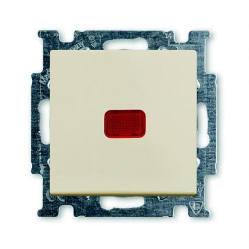 ABB - Девиаторен ключ с индикация ABB Basic55 крем 2CKA001012A2150