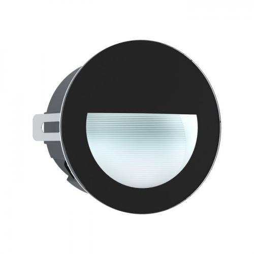 EGLO - LED луна ВЛ-ВГР. стълби LED 3,7W 320lm 4000K Ø125 черно 'ARACENA' 99576