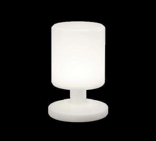 TRIO - Градински фенер  бял влагозащитен IP44  BARBADOS – R57010101