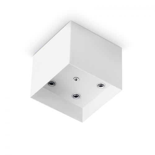 IDEAL LUX - Розетка за таван  ROSONE METALLO 5 LUCI SQUARE Bianco  138053