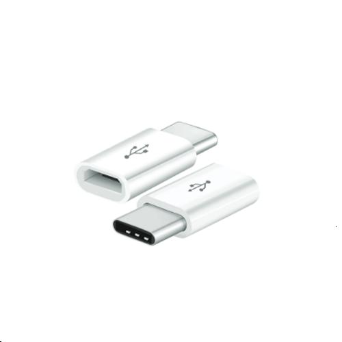 V-TAC - Адаптор micro USB към type C, бял SKU 8472 VT-5149