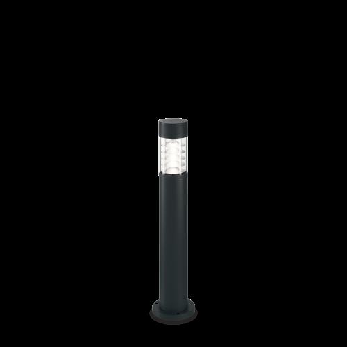 IDEAL LUX - Градински стълб  DEMA PT1 H60 NERO 248226 R7s max 1 x 60W, IP54