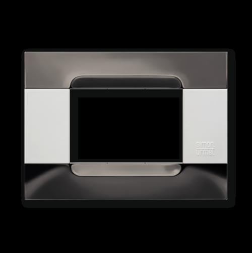 SIMON URMET - 10903.B.92 Black Nickel Polychrome Metal Finishes Kadra