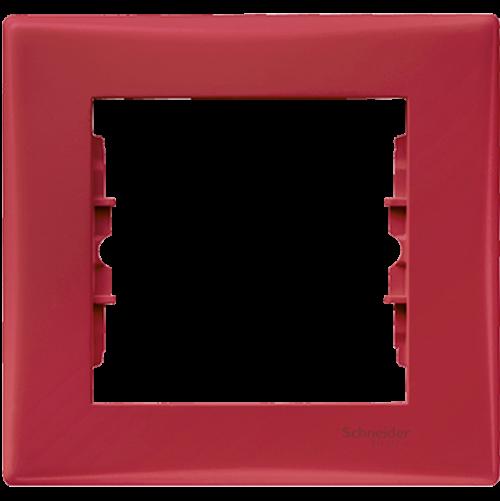 SCHNEIDER ELECTRIC - SDN5800141 декоративна рамка Sedna единична червена