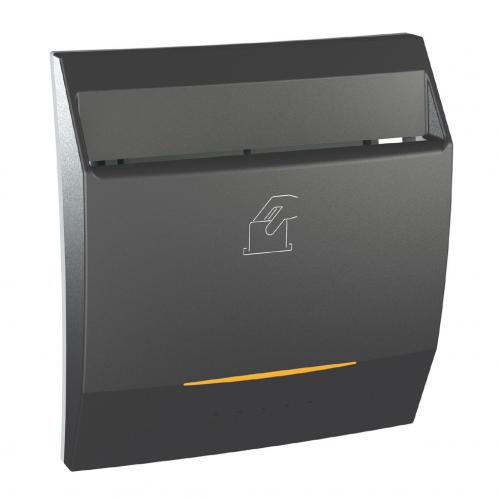 SCHNEIDER ELECTRIC - MGU3.540.12 Ключ-карта с времезакъснение 8А Unica Top графит