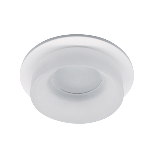 ELMARK - SA-045/1 луна за вграждане кръгла бяла 92045R1/WHFR