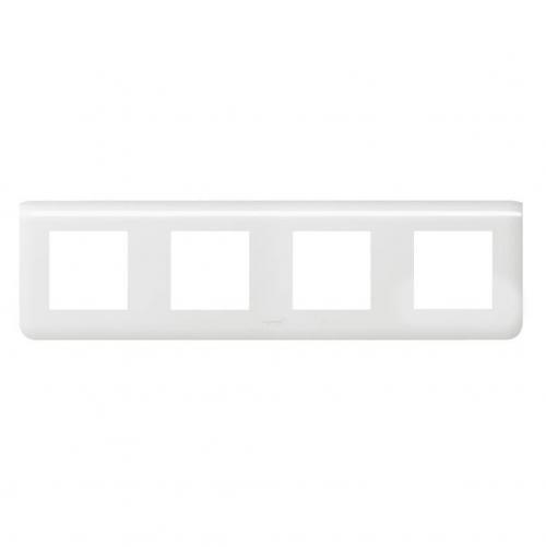 LEGRAND - 78808 Осеммодулна рамка 4х2 Mosaic бяло