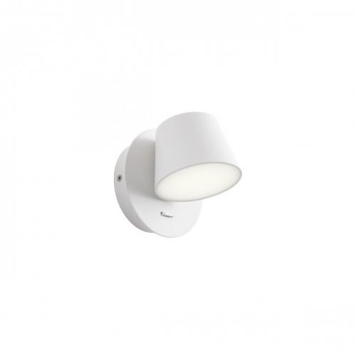 REDO GROUP - Аплик SHAKER 01-1738  AP LED 6W IP20 SAND WHITE