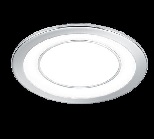 TRIO - LED панел за вграждане  10 W хром  CORE – 652610106