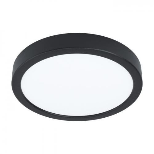 EGLO - ПЛ LED панел 16,5W 1800lm 3000K Ø210 димер черен 'FUEVA 5' 99263