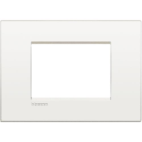 BTICINO - LNC4803BN Рамка 3М white pure Livinglight AIR