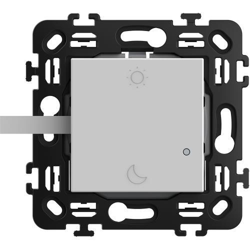BTICINO - RW4574CW Сценариен ключ Smart събуждане/заспиване БЕЗжичен с 2 мод. носеща рамка цвят Бял Classia Bticino с Netatmo