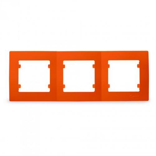 MAKEL - Тройна рамка оранжева Lillium Natural Kare 32094703