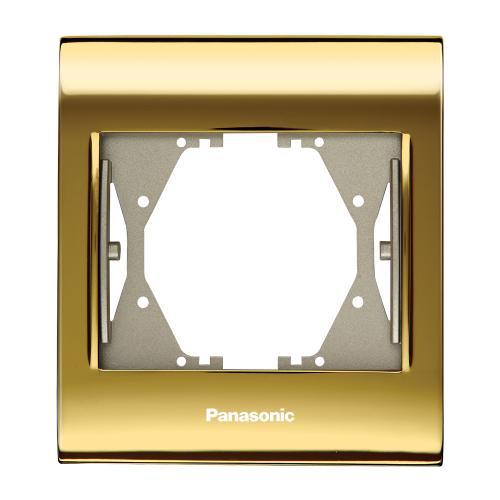 PANASONIC - Единична рамка Златна WBTF0801-5GL