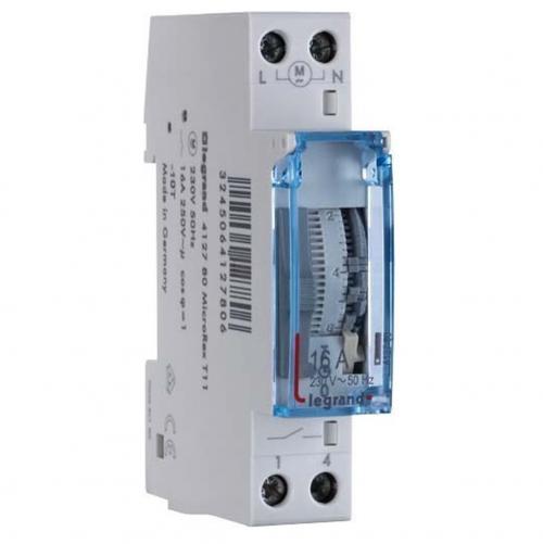 LEGRAND - 412780 ДИН Таймер 16А 24h, 1 модул