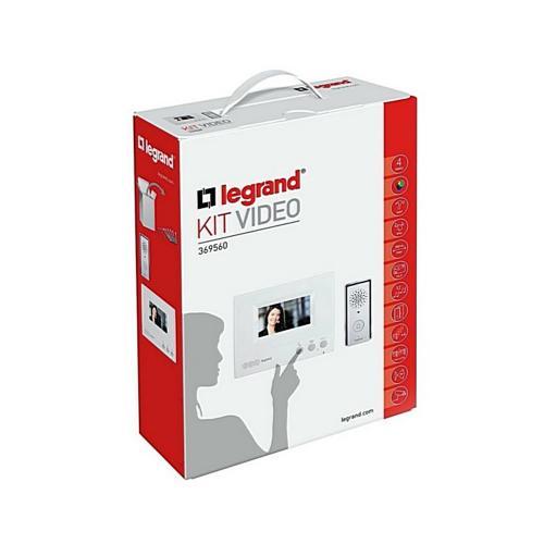 LEGRAND - Видеодомофон цветен еднофамилен 4,3