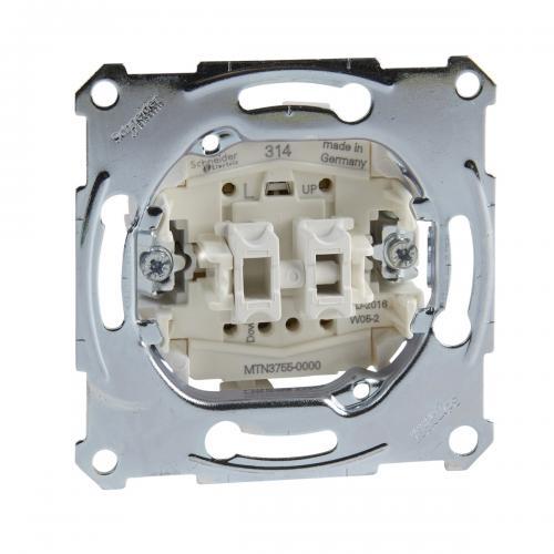 SCHNEIDER ELECTRIC - MTN3755-0000 Еднополюсен бутон за щори 10A Merten