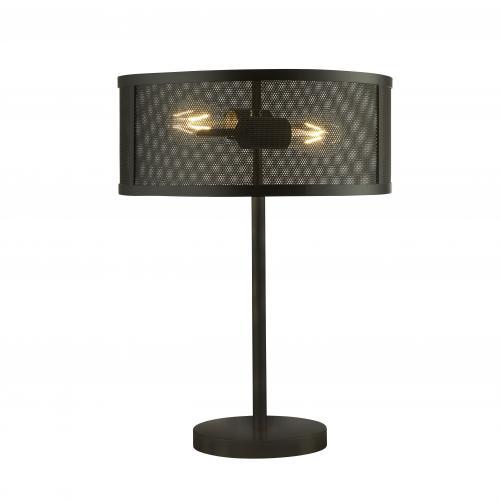 SEARCHLIGHT - Настолна лампа EU2822-2BK  Fishnet
