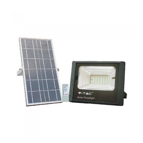 V-TAC - 12W LED Прожектор с Фотоволтаичен Панел 4000К SKU: 8573 VT-25W