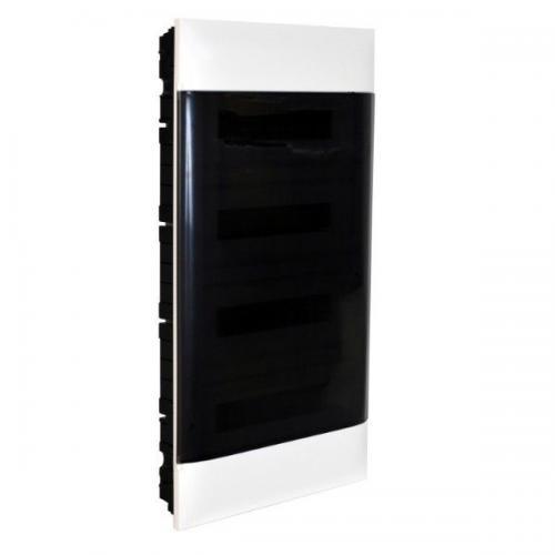 LEGRAND - Табло за скрит монтаж 4х18 мод. Practibox S с прозрачна врата и Н и РЕ клеми 137159