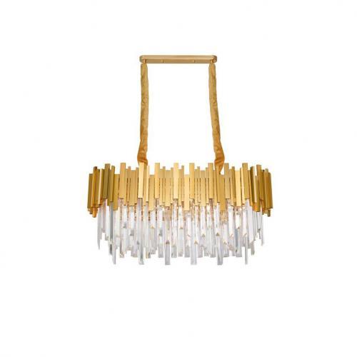 NOVA LUCE - Полилей GRANE 9050130 LED E14 8x5W, IP20, Bulb Excluded L: 80 W: 30 H: 120 cm