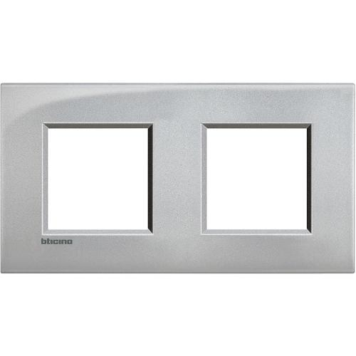 BTICINO - LNE4802M2TE Двойна Рамка 2х2М Tech Livinglight AIR