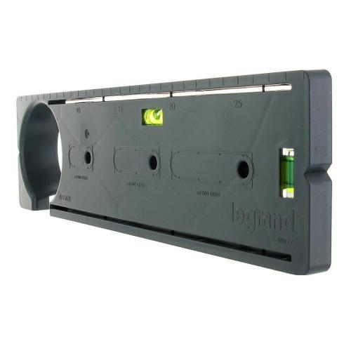 LEGRAND - 80077 Монтажен шаблон с нивелир за направа на отвори за конзоли в гипсокартон, ф68мм