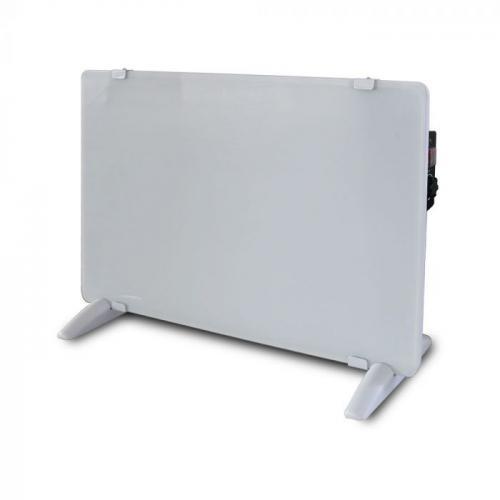 V-TAC - Конвектор 2000W стъклен бял панел  SKU: 8661 VT-2000