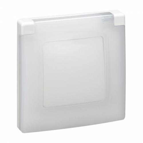 LEGRAND - 665000 Niloe Влагозащитена рамка IP44 бяло