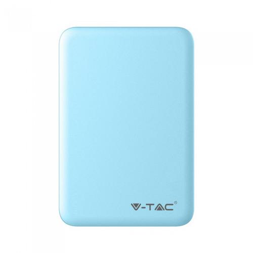 V-TAC - SKU:8195 VT-3503 5000mah POWER BANK-BLUE