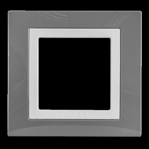 SCHNEIDER ELECTRIC - MGU2.002.858 декоративна рамка Unica Basic единична техническо сиво