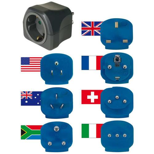 BRENNENSTUHL - 1508160 Travel plugs with 10A fuse