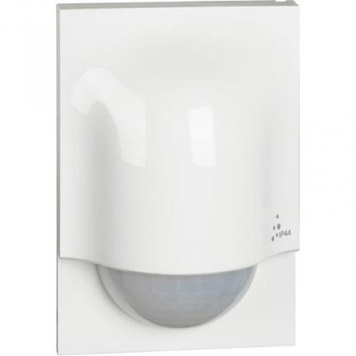 BTICINO - Датчик за движение Smart PIR, за монтаж на стена, 140°, обхват 8m @ h=2.5m, IP44, безжичен Бял Living Now Bticino Netatmo 3585C