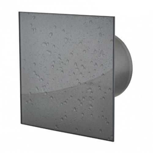 MMOTORS - Вентилатори за баня MM-P 100/169 Мокър асфалт - Стъкло