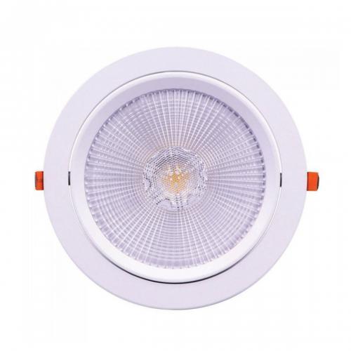 V-TAC PRO - LED Downlight SAMSUNG Chip 30W Movable 4000K SKU: 846, 3000К-845, 6400К-832 VT-2-30