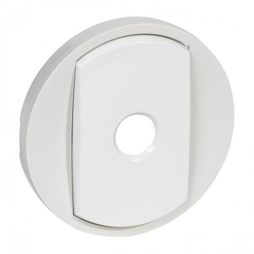LEGRAND - Лицев панел за енергоспестяващ ключ Celiane 68012 бял