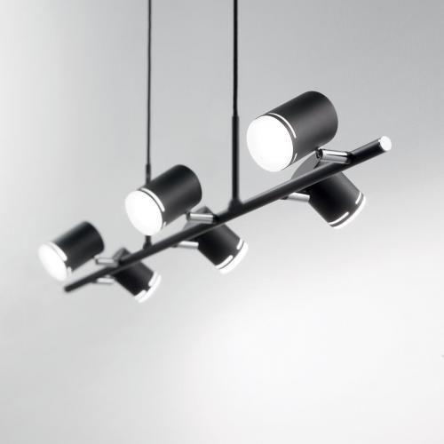 IDEAL LUX - Полилей SHOTS SP6 Nero 179612