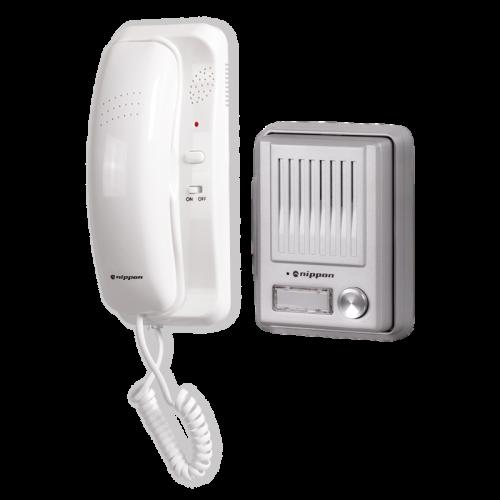 NIPPON - Комплект еднофамилна аудиодомофонна система Nippon WL-S2H4