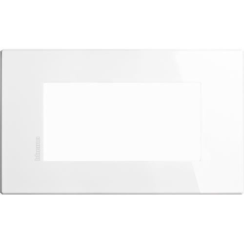 BTICINO - HW4804HD Рамка 4М бяла Axolute Air