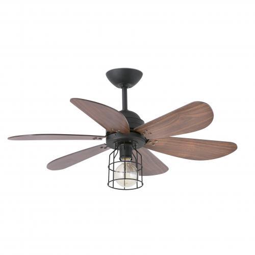 FARO - Таванен вентилатор със осветление CHICAGO 33703